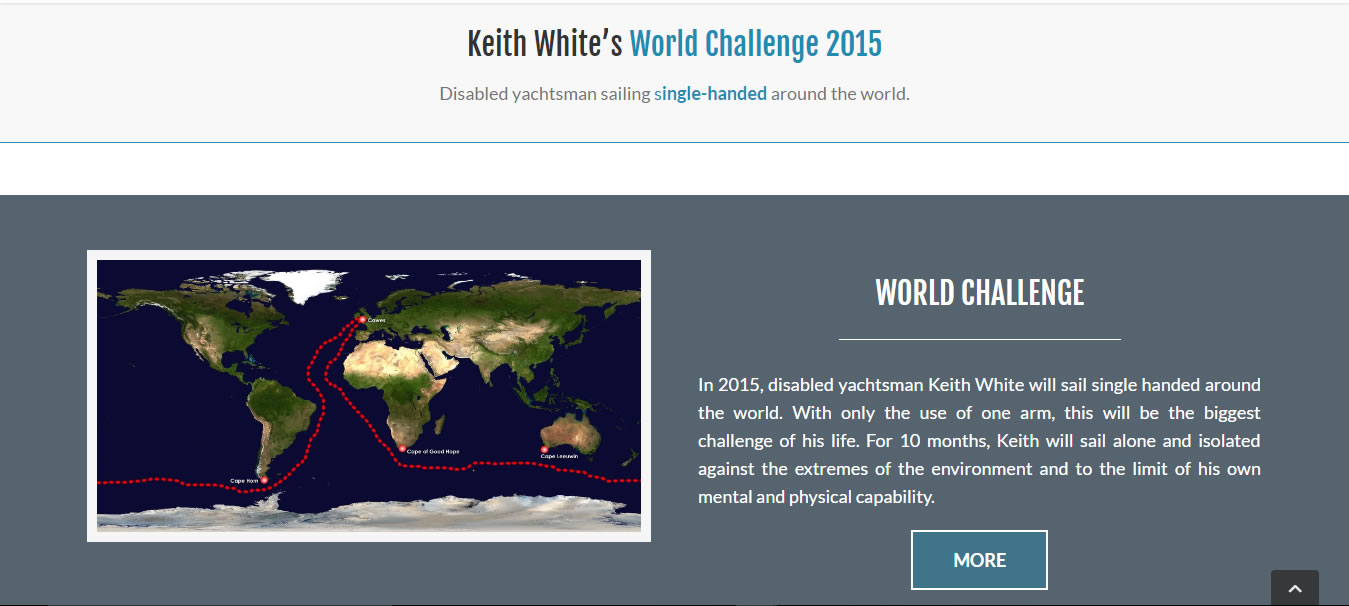Keith White World Challenge